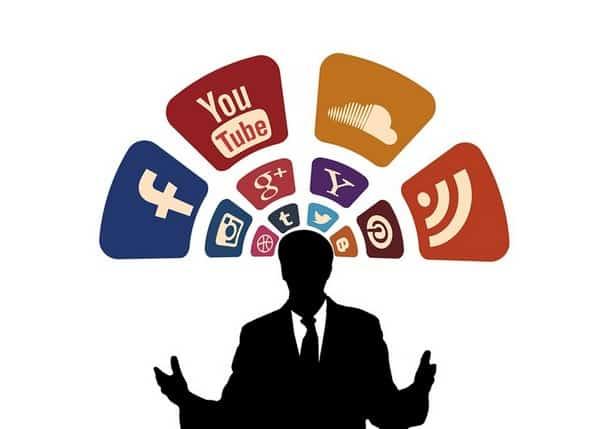 Esteja presente em mais de uma rede social