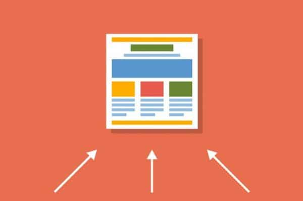 links de outros sites que direcionam o usuário para o seu site, são links externos