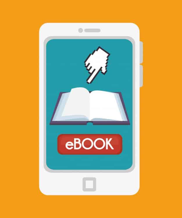 O ebook deve ser usado em conjunto com uma estratégia de marketing maior