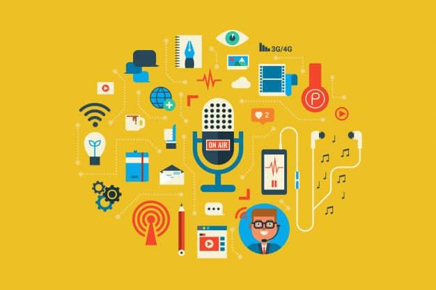 O podcast e o marketing de conteúdo