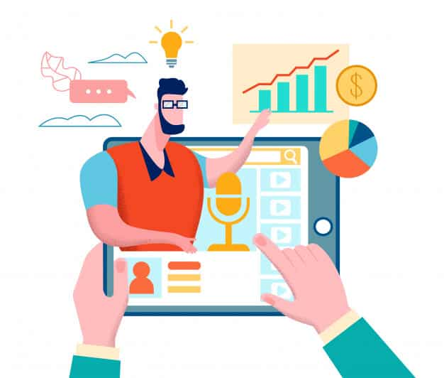 Usando o podcast para marketing de conteúdo