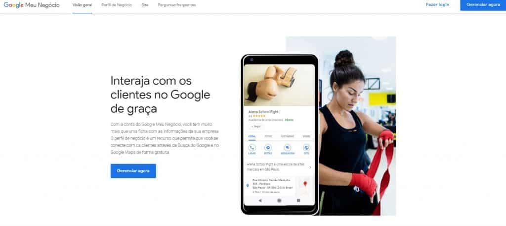Google Meu Negócio para seu estabelecimento comercial