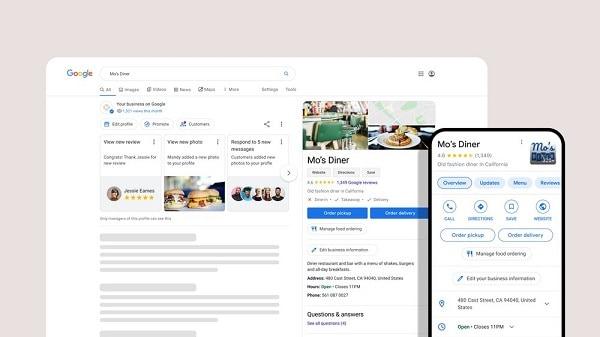 Google Business para Restaurantes