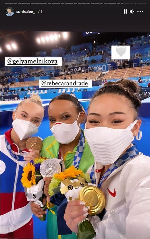 Atleta Americana Comemora vitória