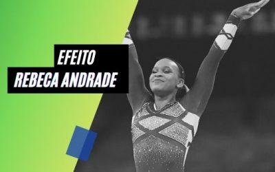 Efeito Rebeca Andrade: hit aumenta reproduções em 40% no Spotify
