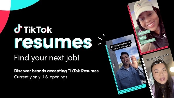 O que é o TikTok Resumes