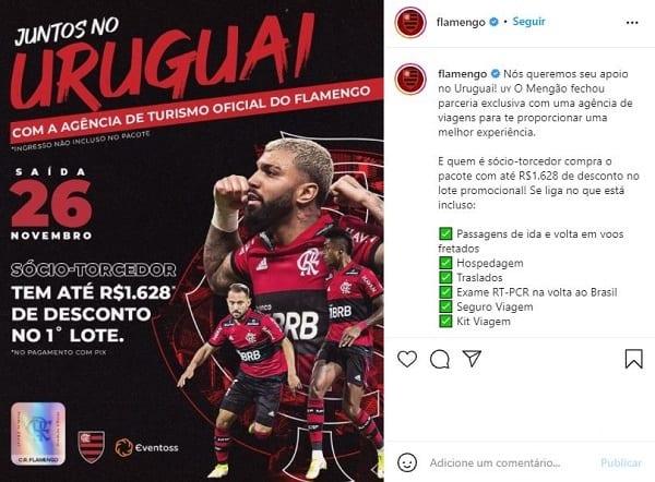 Flamengo nas Redes Sociais